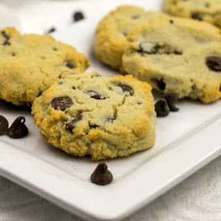 Low Carb Chocolate Chip Cookies.