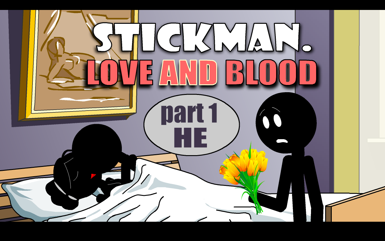 Stickman Love And Blood. He- screenshot