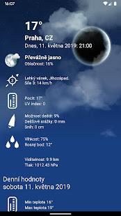 Počasí XL PRO - náhled