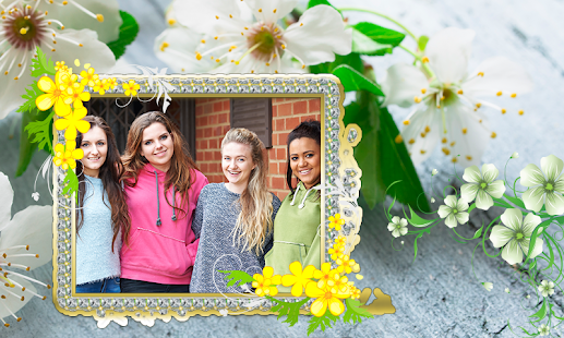 Flowers HD Photo Frames - náhled
