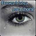 Frases tristes para chorar icon