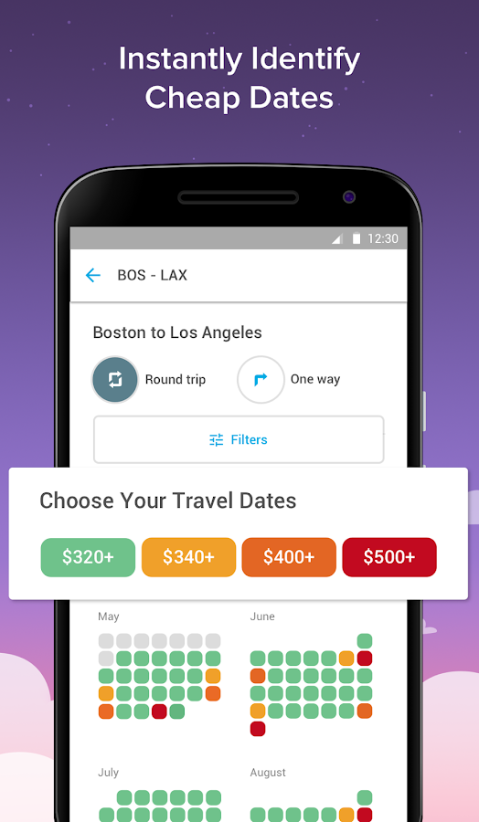 Hopper - Watch & Book Flights- screenshot