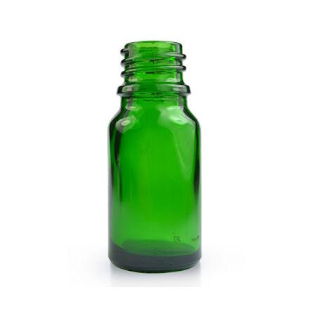 Glasflaska 5 ml - grön