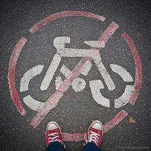 Photo: No Cycling