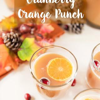 Cranberry Orange Punch Recipes