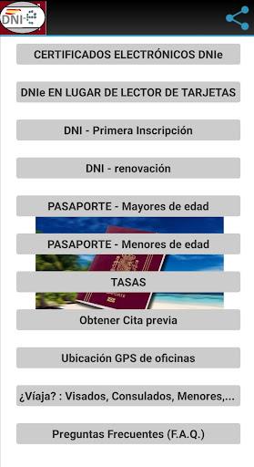 DNI/Pasaporte: Requisitos y Obtenciu00f3n de Cita screenshots 2