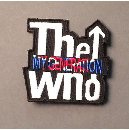 The Who - My Generation - Tygmärke