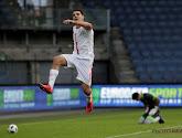 Aleksandar Mitrovic heeft een schitterende lob gescoord in de eerste WK-kwalificatiewedstrijd van Servië
