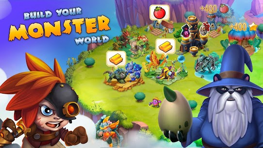 Monster Legends MOD Apk 10.0.6 (High Damage/3 Stars) 5