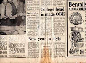 Photo: SURREY COMET January 3, 1976 (2/2) サリー・コメット紙 (2/2)