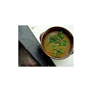 Egyptian Black Lentil Soup