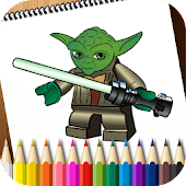 Coloring Book Lego Star Wars