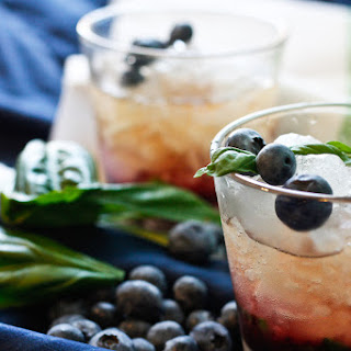 Blueberry Basil Julep