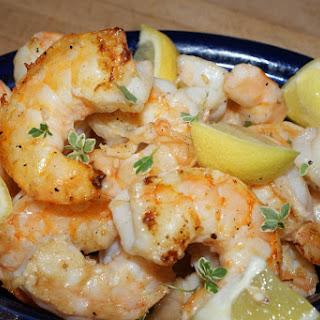 Grilled Shrimp with Lemon Recipe