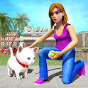 Family Pet Cat Home Adventure : Pet Daycare Games icon
