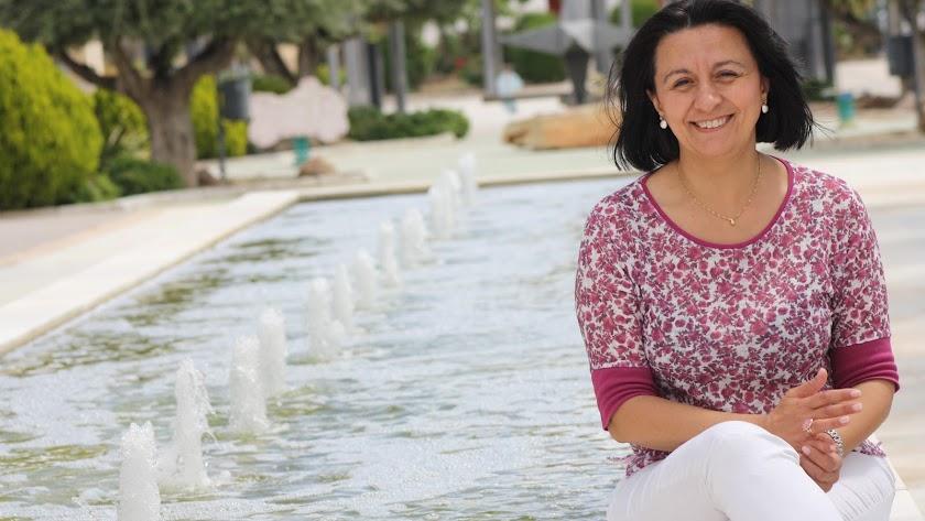 La alcaldesa de Cantoria, Puri Sánchez.l