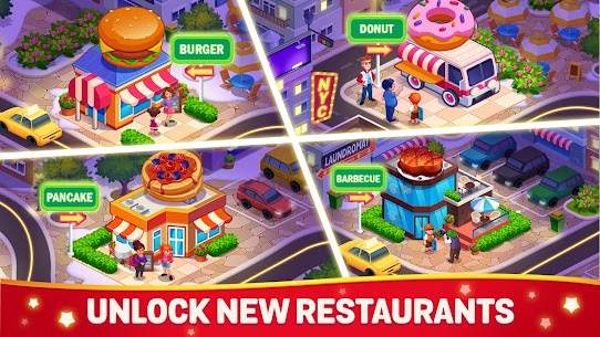 Cooking Dream MOD (Free Shopping) 5