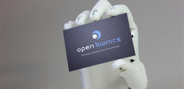3D-печатная роботизированная рука