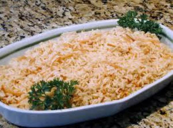 Simple Arabic Rice Pilaf Recipe