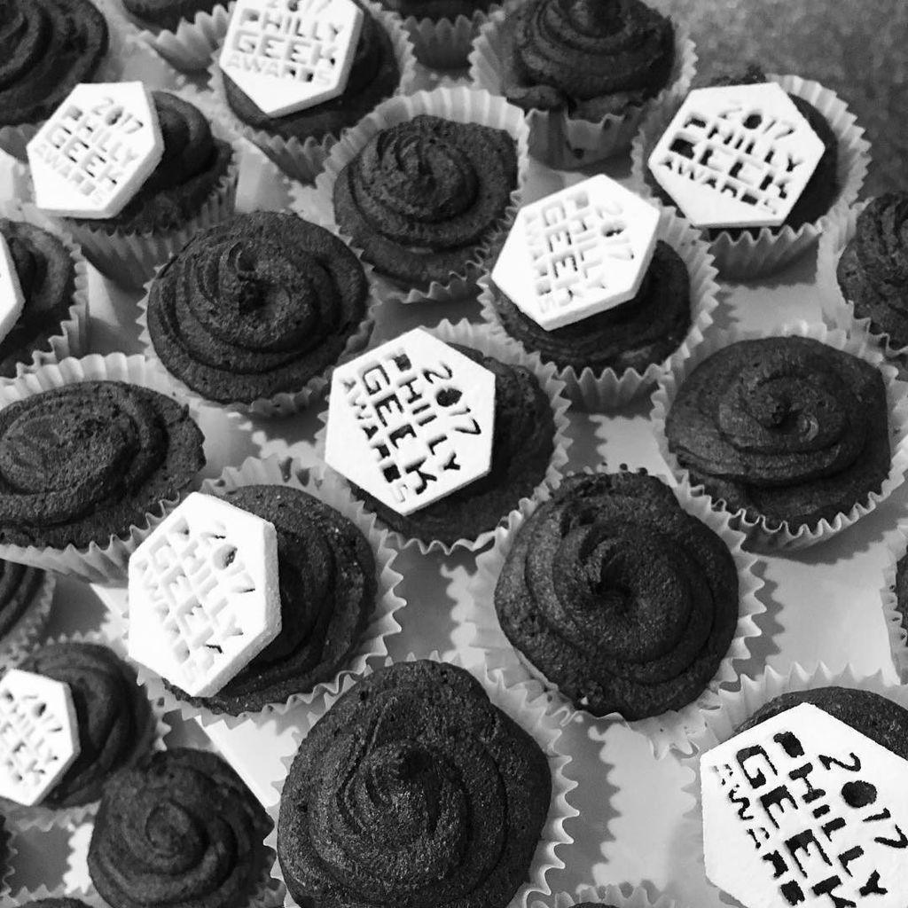 Philly Geek Awards Cupcakes