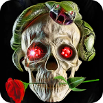 Skull, live wallpaper. Apk Download Free for PC, smart TV
