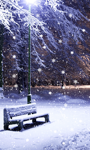 Winter Snow Live Wallpaper