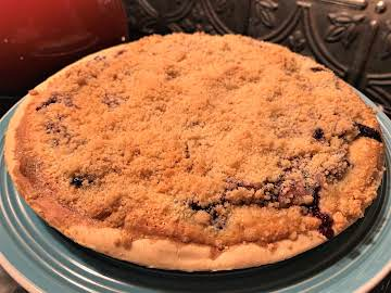 Kristina's Blueberry Cream Pie