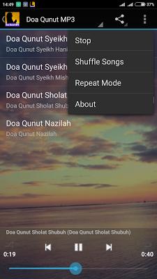 Doa Qunut MP3 - screenshot