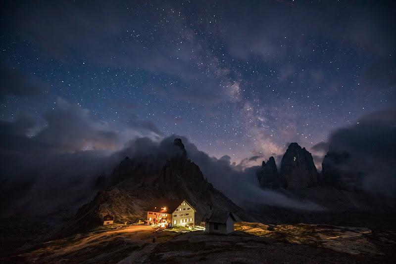 Road of stars  ( Cime di Lavaredo ) di Giancarlo Lava