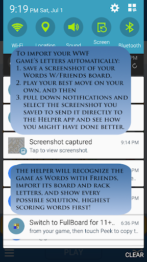 Words Helper 4 Friends  screenshots 1
