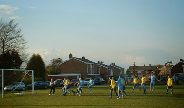 Photo: 09/04/08 v Meltis Corinthians (Beds County League Premier Division) 1-3 - contributed by Martin Wray