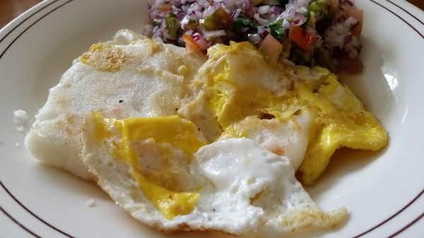 Arepas Con Huevos