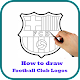 Download How to Draw Football Club Logos Easily For PC Windows and Mac