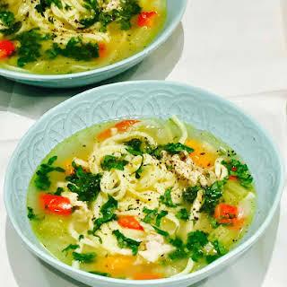 Winter Warming Chicken Soup.