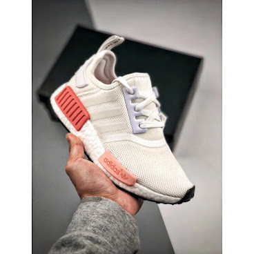 Adidas NMD R1 (Core White/Pink)