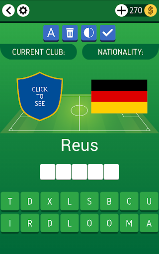 Names of Soccer Stars Quiz  screenshots 9