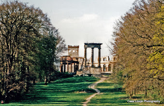 Photo: Potsdam. Ruinenheuvel.