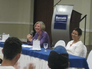 Photo: Sra. Betina Kern Embajadora de Alemania en Nicaragua Fondo Común