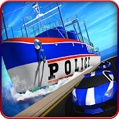 Police Ship Transporter Game – Plane Transport