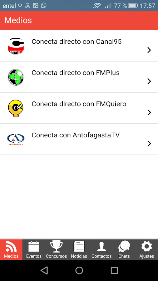 conecta- screenshot