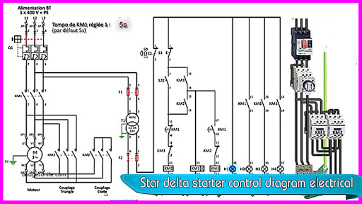 Star Delta Starter Control Diagram Electrical Apk Download