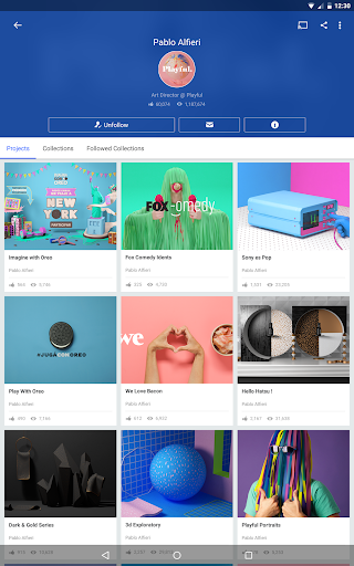 Behance 6.2.3 Apk for Android 10
