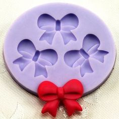 Silicone molds for making hot glue shapes