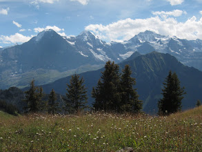 Photo: Not to mention the Eiger, the Monch, and Jungfrau  (13,024, 13,474, and 13,641  ft.)