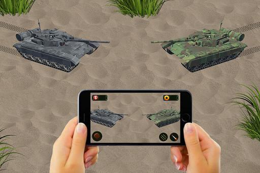 RC Tank Remote Control Sim AR. 0.1 screenshots 1