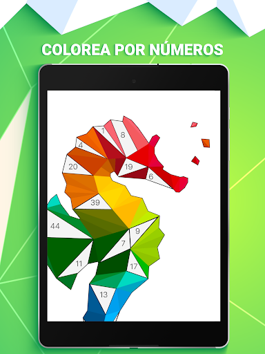 POLYGON: Color con nu00fameros  trampa 7