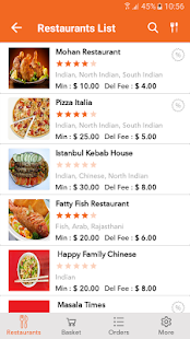 Customer APP - Come N Eat- screenshot thumbnail