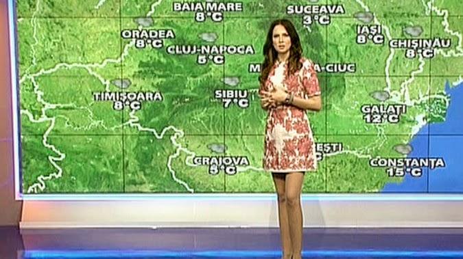 Frumoasa Iulia și vremea rece