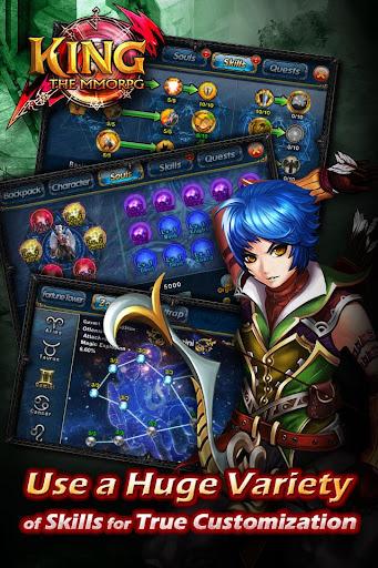 【免費角色扮演App】KING:THE MMORPG-APP點子