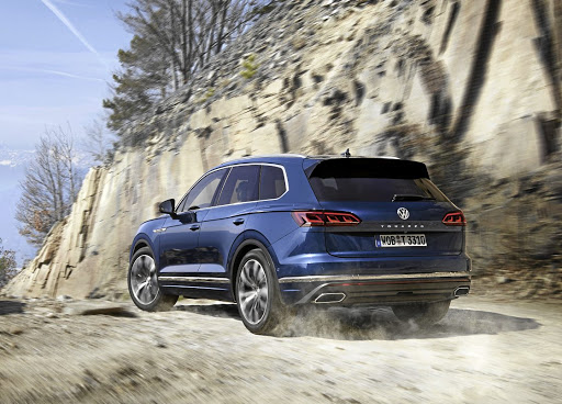 The new Touareg is as good off-road as on-road. Picture: VOLKSWAGEN